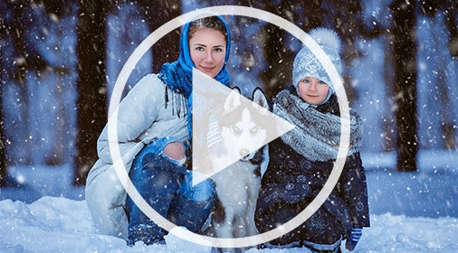 photoshop action for snow
