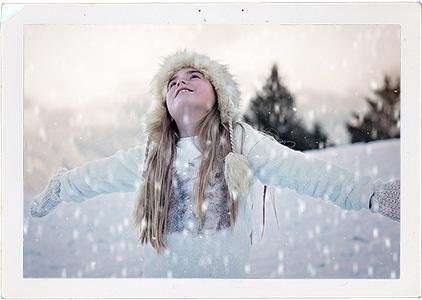 GIMP snow