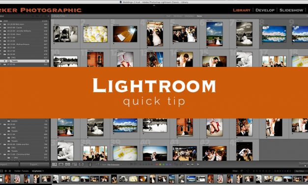 Lightroom Quick Tip #1