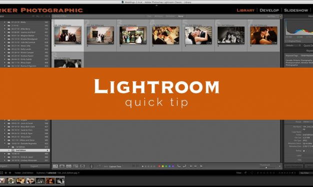 Lightroom Quick Tip #2