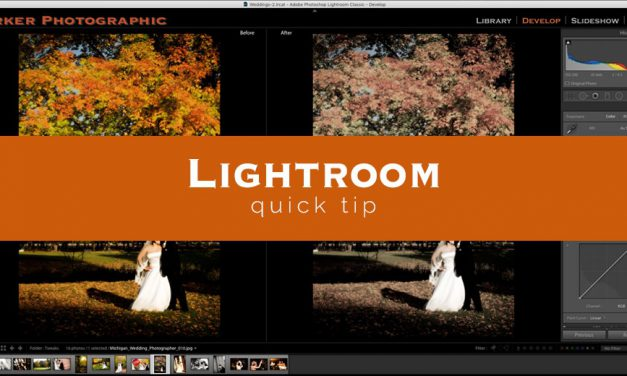 Lightroom Quick Tip #3