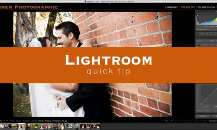 Lightroom Quick Tip #4