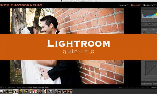 Lightroom Quick Tip #4