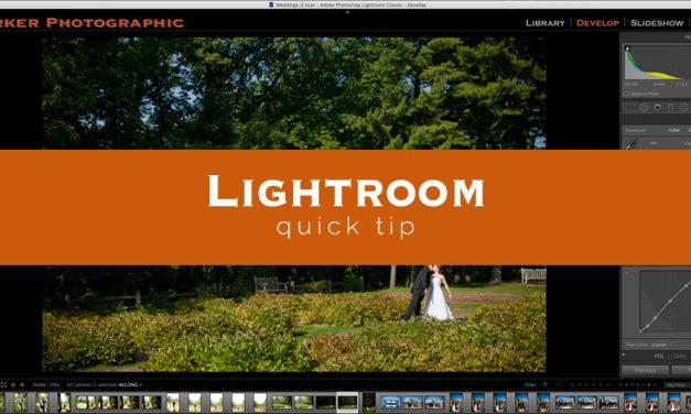 Lightroom Quick Tip #5