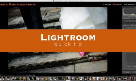 Lightroom Quick Tip #6