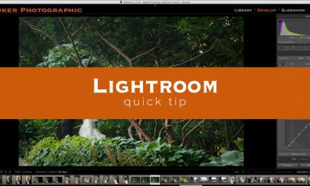 Lightroom Quick Tip #7