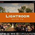 Lightroom Quick Tip #9