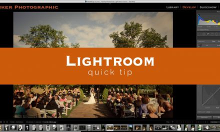 Lightroom Quick Tip #9