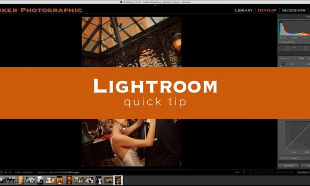 Lightroom Quick Tip #10
