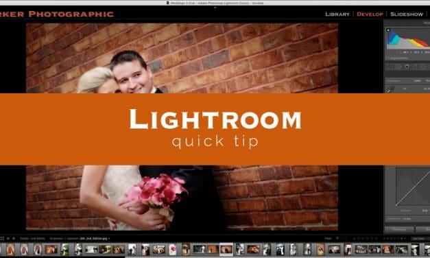 Lightroom Quick Tip #12
