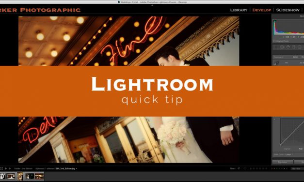 Lightroom Quick Tip #13