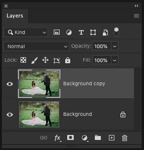 Duplicate Photoshop Layer