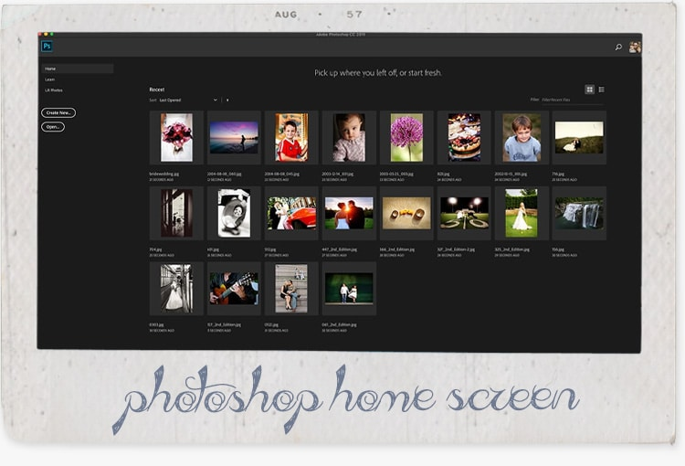 photoshop home Featured