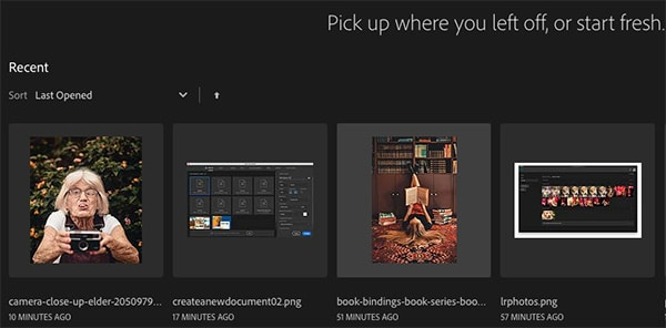 How to use the Photoshop Home Screen | the Complete Guide (2020) 18