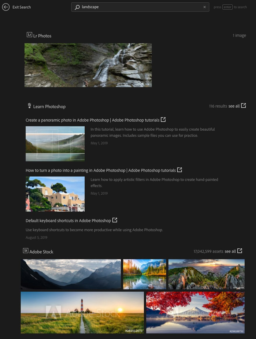 How to use the Photoshop Home Screen | the Complete Guide (2020) 25