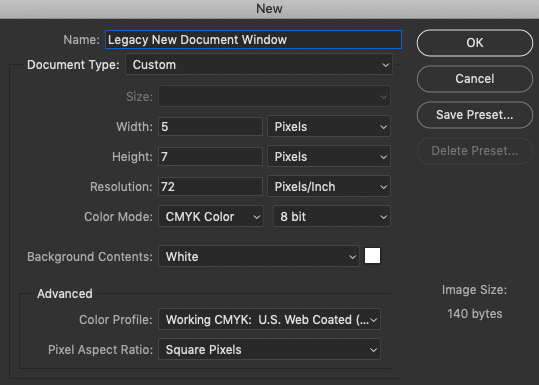 How to Create New Documents in Photoshop CC 4