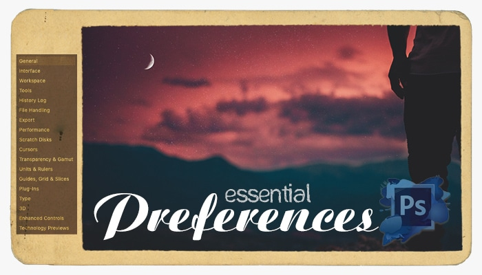 photoshop essential preferences