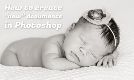 How to Create New Documents in Photoshop CC