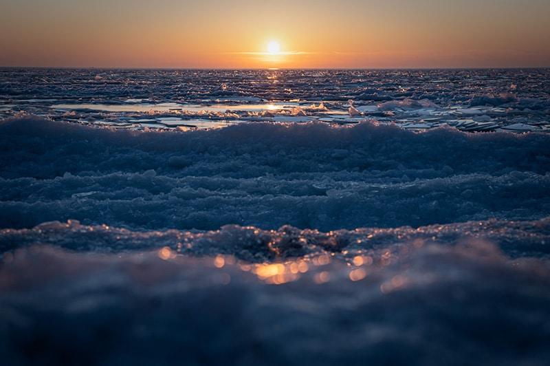 ISO 100 sunset
