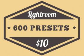 Free filters presets for Lightroom