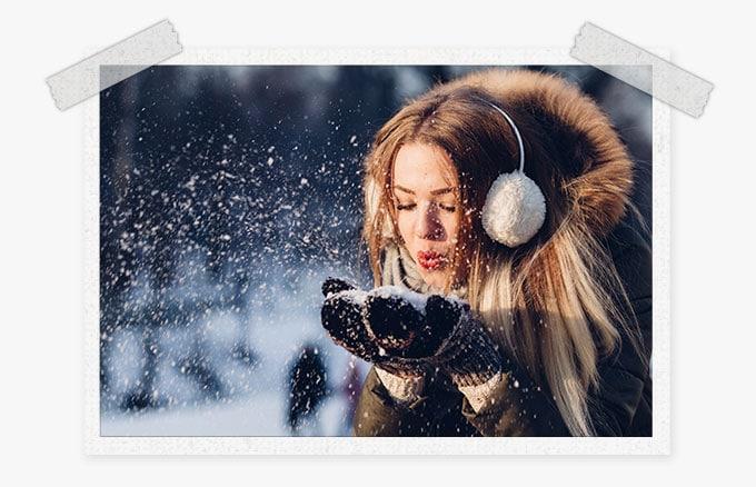 winter Lightroom presets
