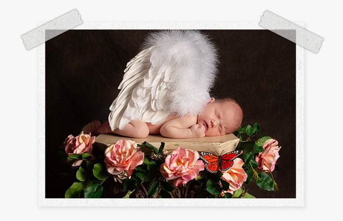 baby presets or newborn baby