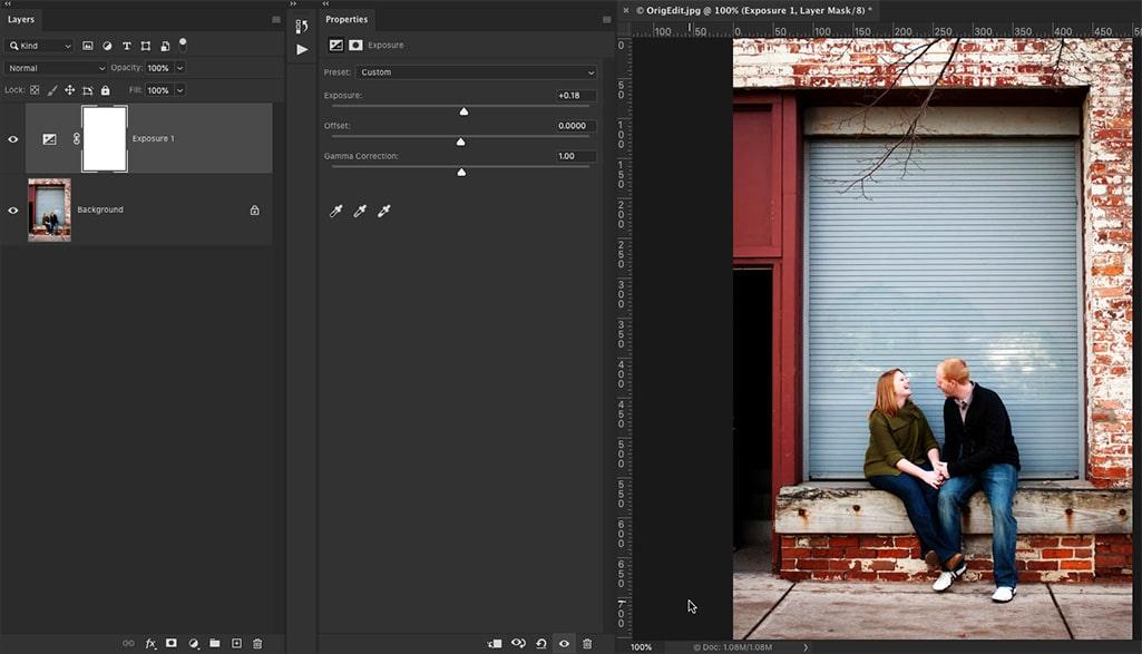 Photoshop lightroom adjustment layers