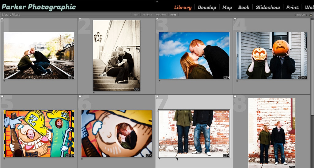 photoshop lightroom stored in the catalog