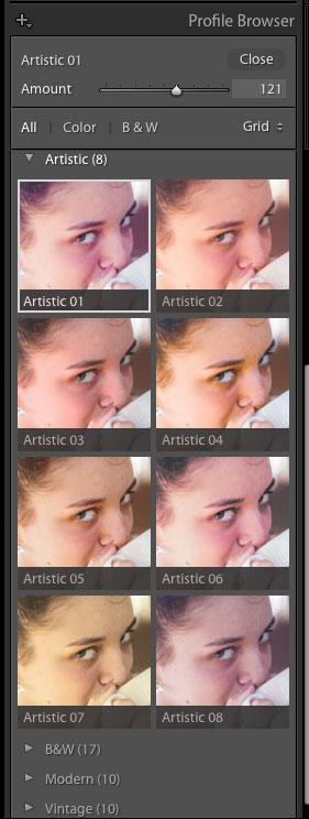 artistic profiles