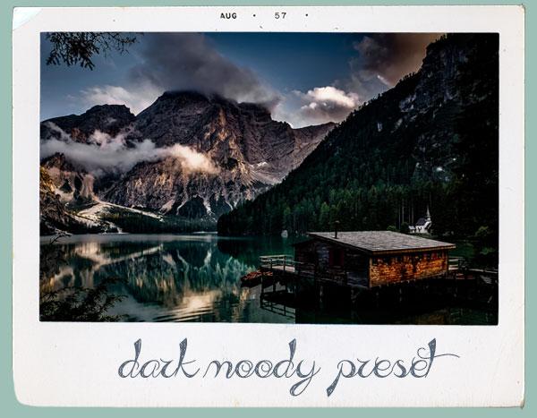 preset dark moody