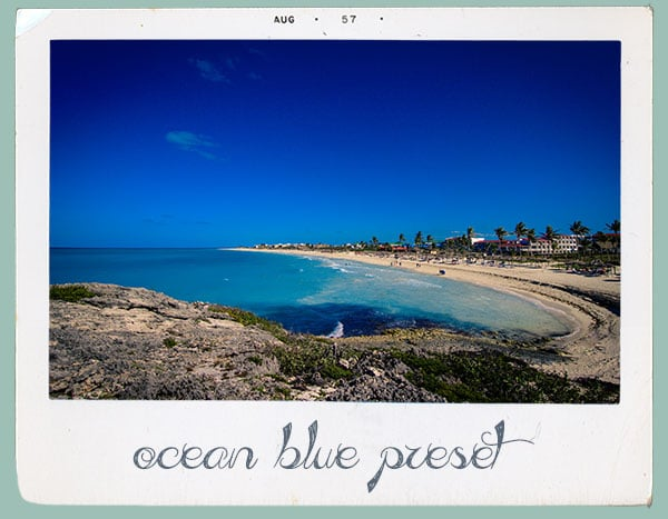 preset ocean blue