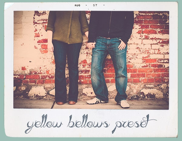 preset yellow bellows