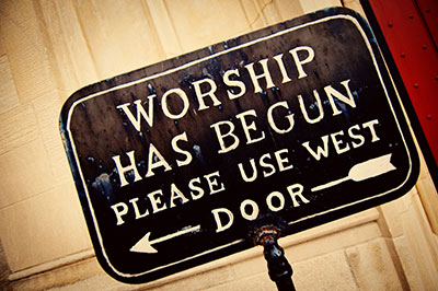 rules of worship