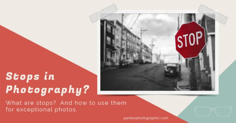Stops in Photography explained