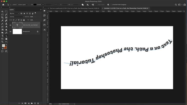 Fix upside down text