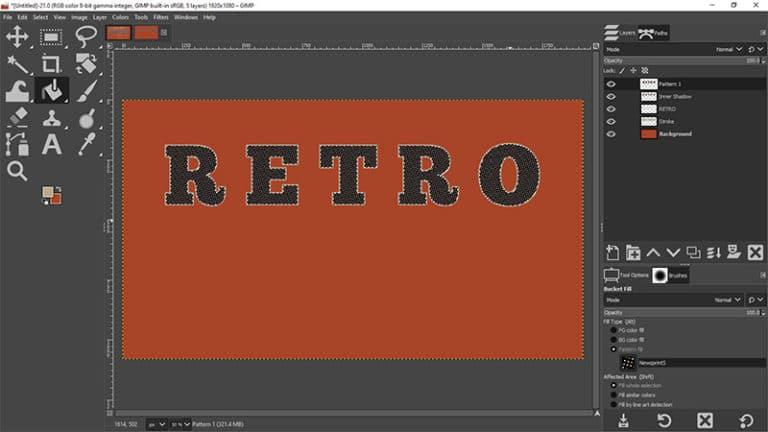 add the first custom pattern
