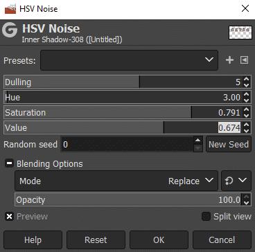 noise settings
