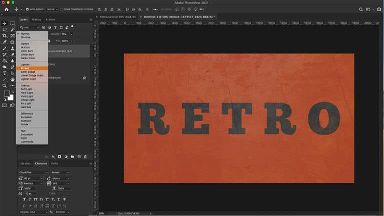 add image texture