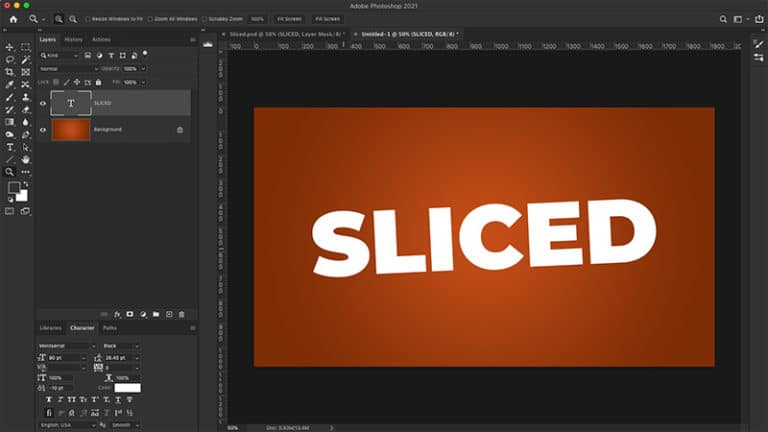 slice your text