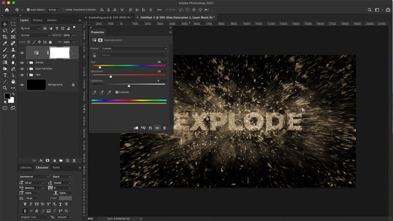 colorize your text effect
