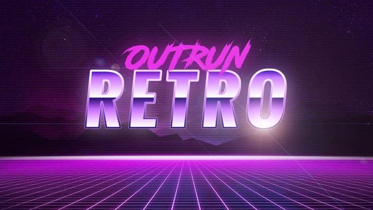 Overlay 80s Outrun Retro