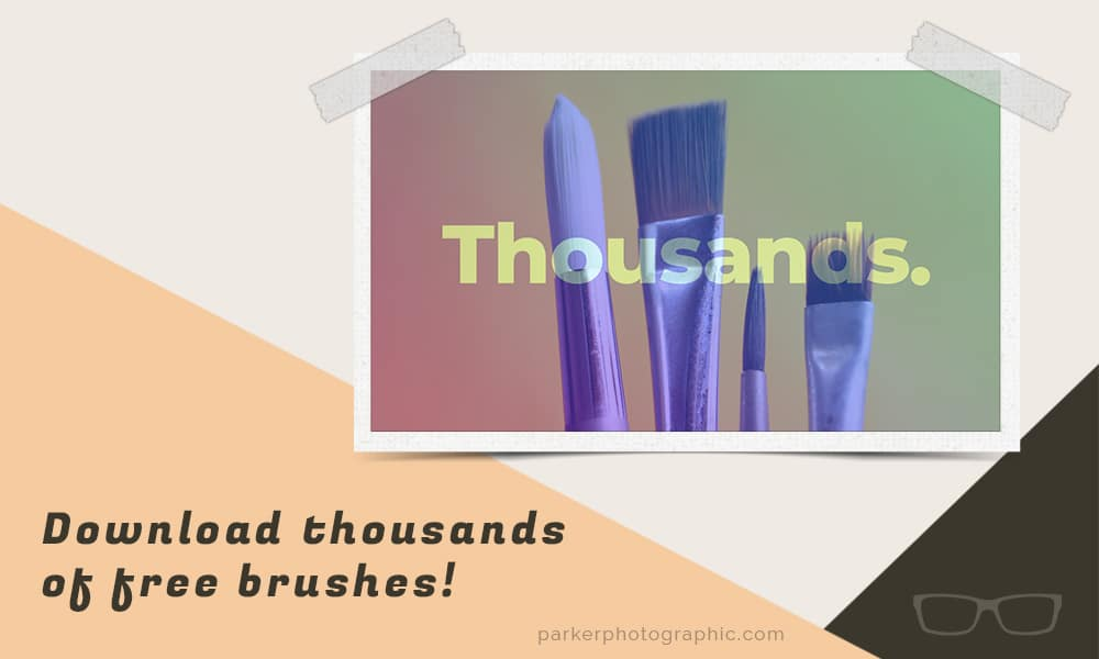 thousands of free brushes