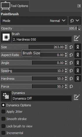 tool options