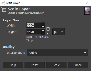 scale layer