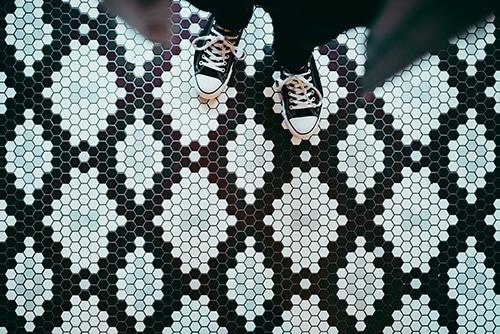 broken pattern