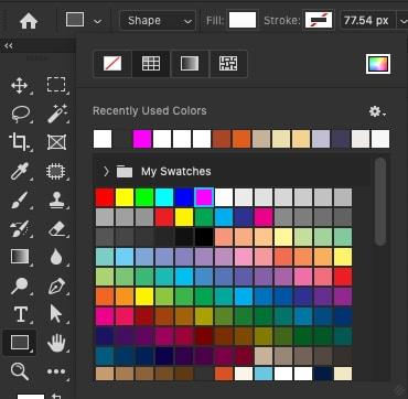 shape color