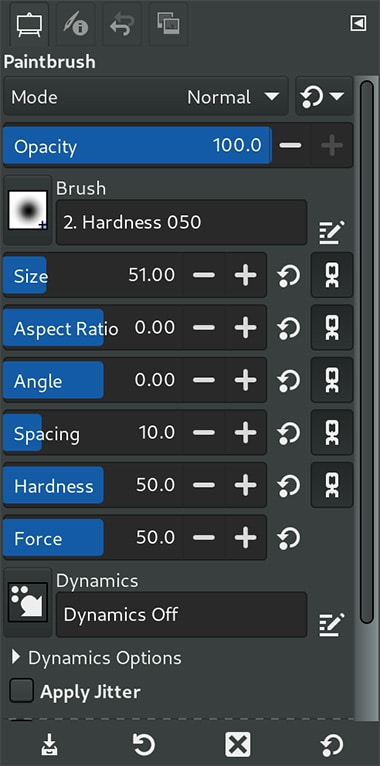 gimp 2.99.2 compact spin scale